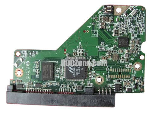 2060-701824-005 WD Hårddisk Kretskort PCB Kontrollerkort Styrkort