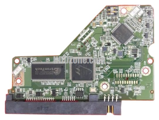 2060-771668-000 WD Hårddisk Kretskort PCB Kontrollerkort Styrkort