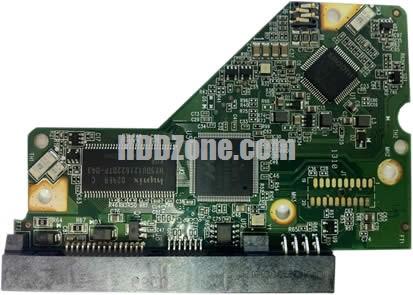 2060-771702-001 WD Hårddisk Kretskort PCB Kontrollerkort Styrkort