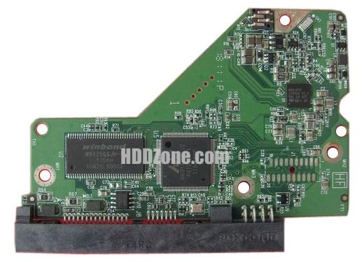 2060-771818-000 WD Hårddisk Kretskort PCB Kontrollerkort Styrkort