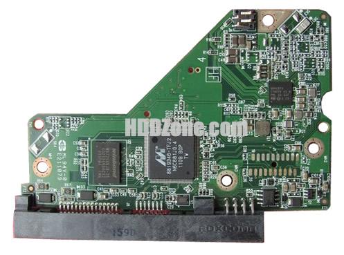 2060-771824-000 WD Hårddisk Kretskort PCB Kontrollerkort Styrkort