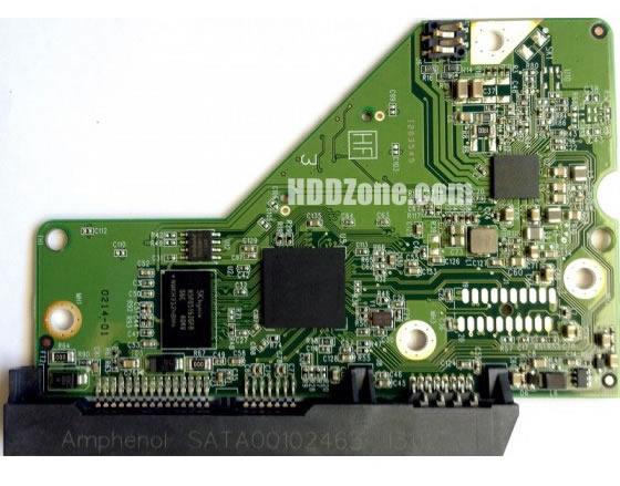 2060-771829-005 WD Hårddisk Kretskort PCB Kontrollerkort Styrkort