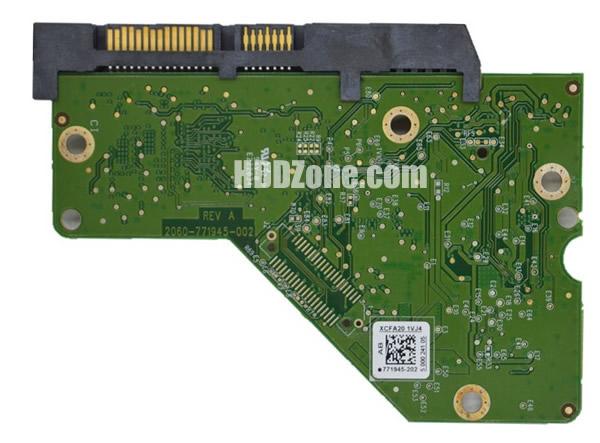 2060-771945-002 WD Hårddisk Kretskort PCB Kontrollerkort Styrkort