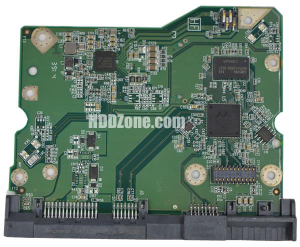 2060-800001-000 WD Hårddisk Kretskort PCB Kontrollerkort Styrkort