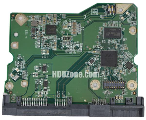 2060-800001-004 WD Hårddisk Kretskort PCB Kontrollerkort Styrkort